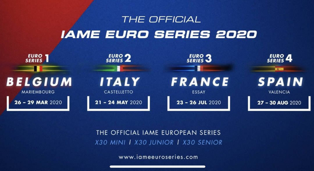 AJ racing in IAME Euro Winter Cup, IAME Euro Series 2020 and World Finals